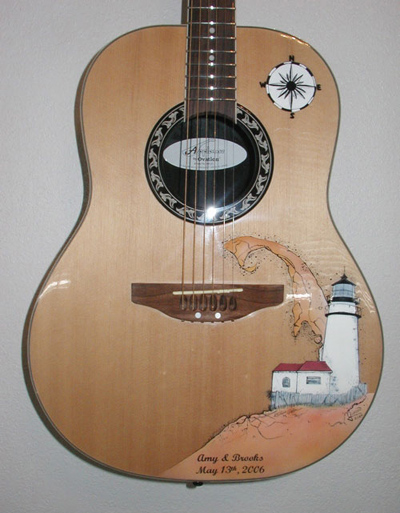 Ovation Lighthouse Guitar