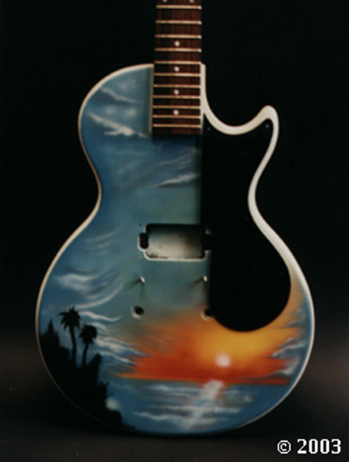 Gibson Palm Tree Guitar