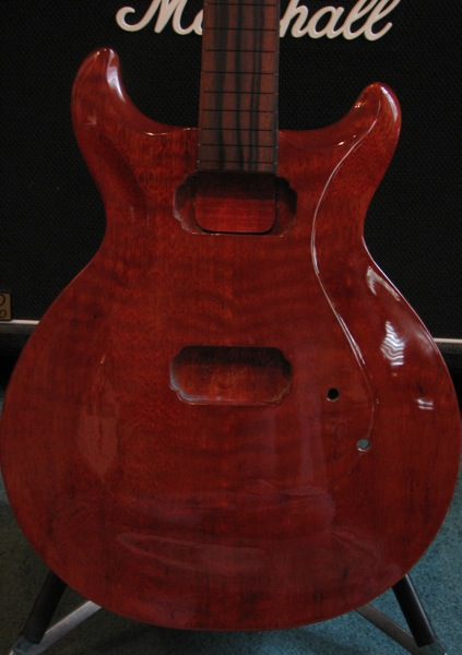 Blood Red Stain Guitar