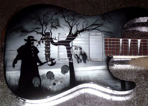 Jeepers Creepers Guitar